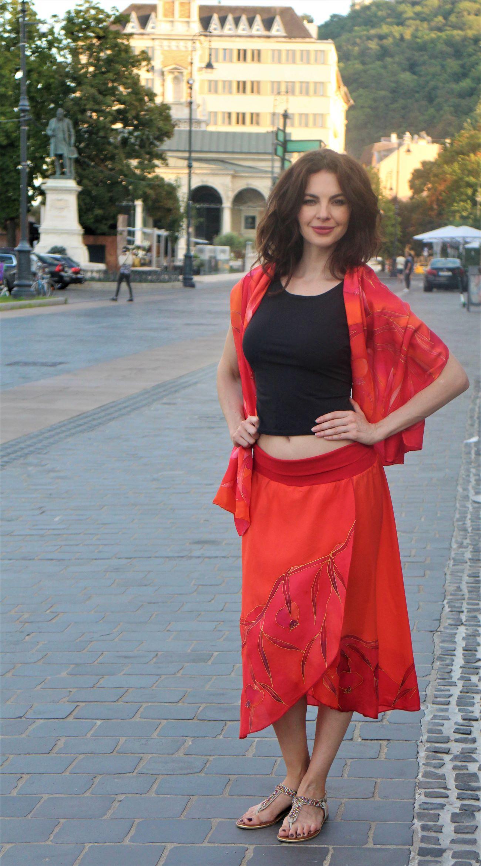 piros selyem szoknya (2)