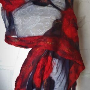 nuno felt scarves