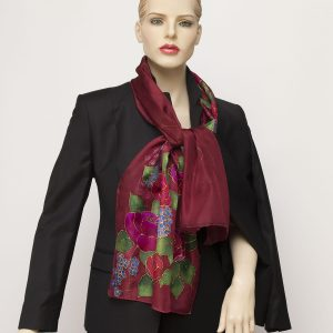 bordoux silk scarf