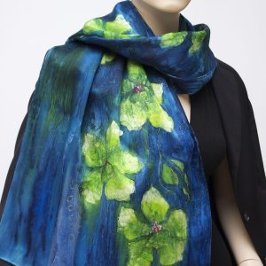 silk satin charmeuse scarf