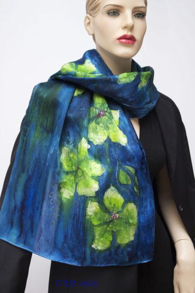silk satin charmeuse scarf
