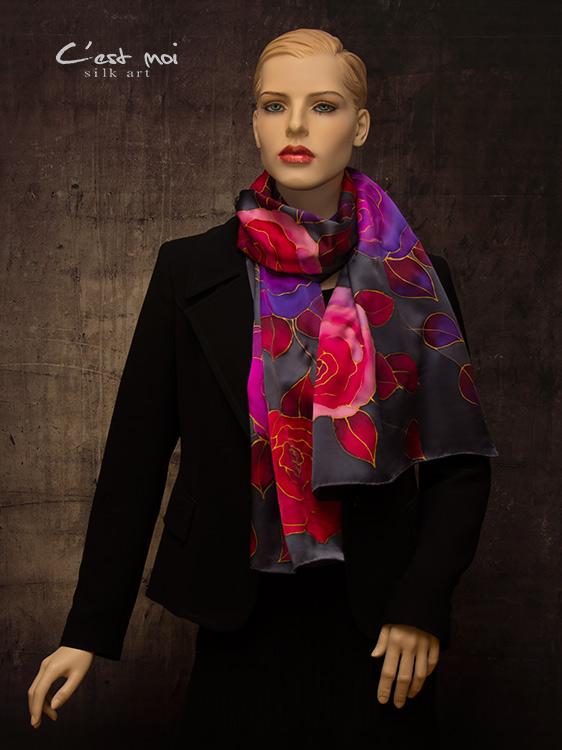 selyem-szatén-charmeuse-sál-színes-rózsákkal-05