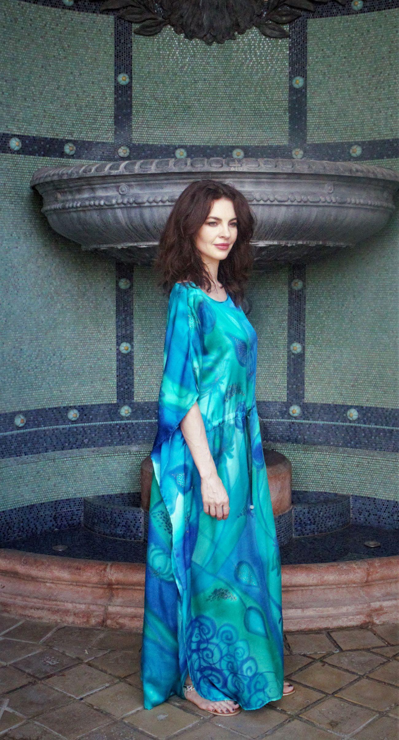 silk dress (2)
