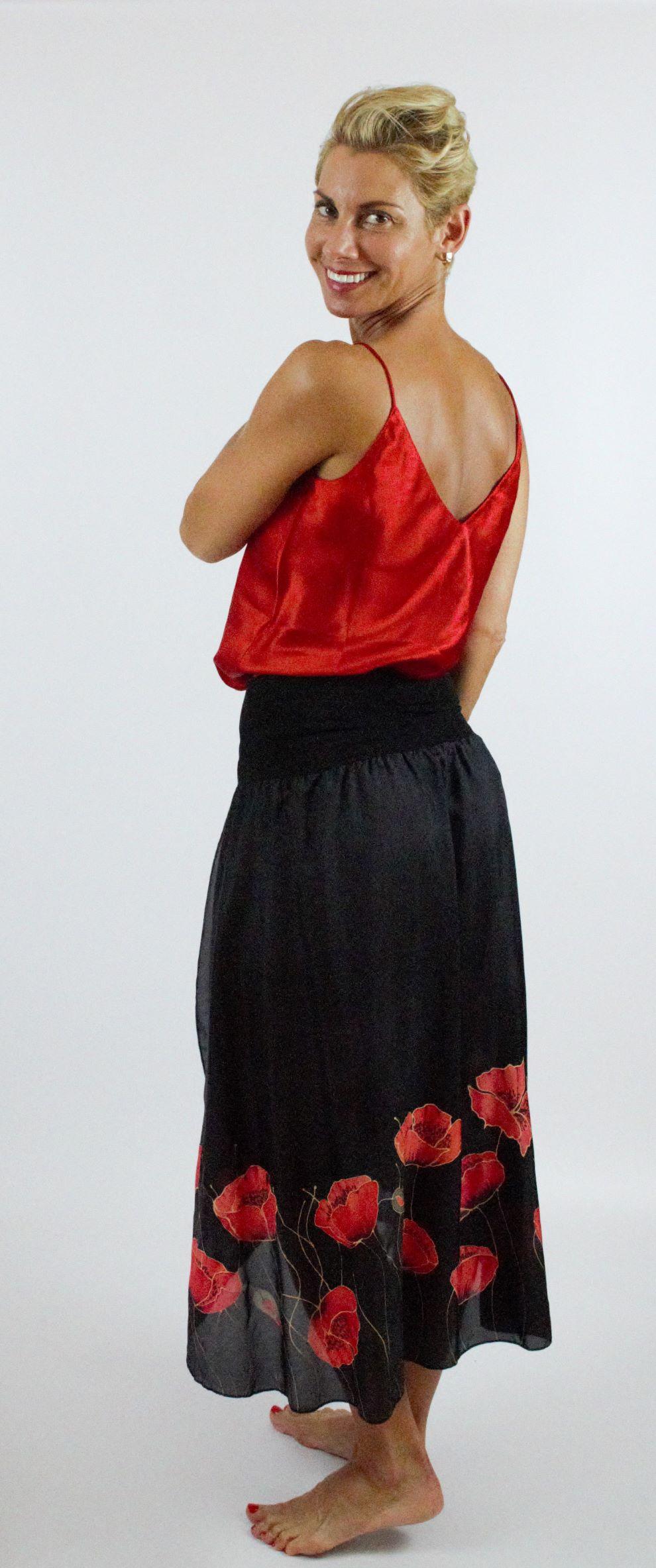 pipacsos selyem szoknya (2)