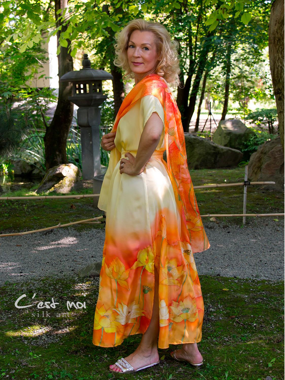 selyem-ruha-sárga-lótuszokkal-13
