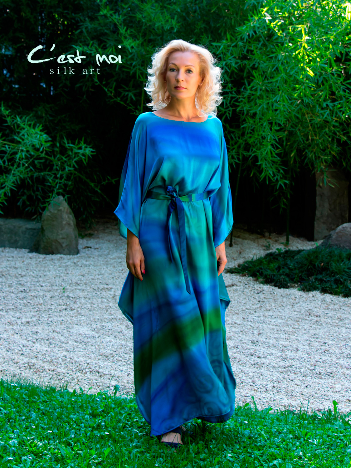 turquoise-casual-silk-dress-by-CestMoi-03