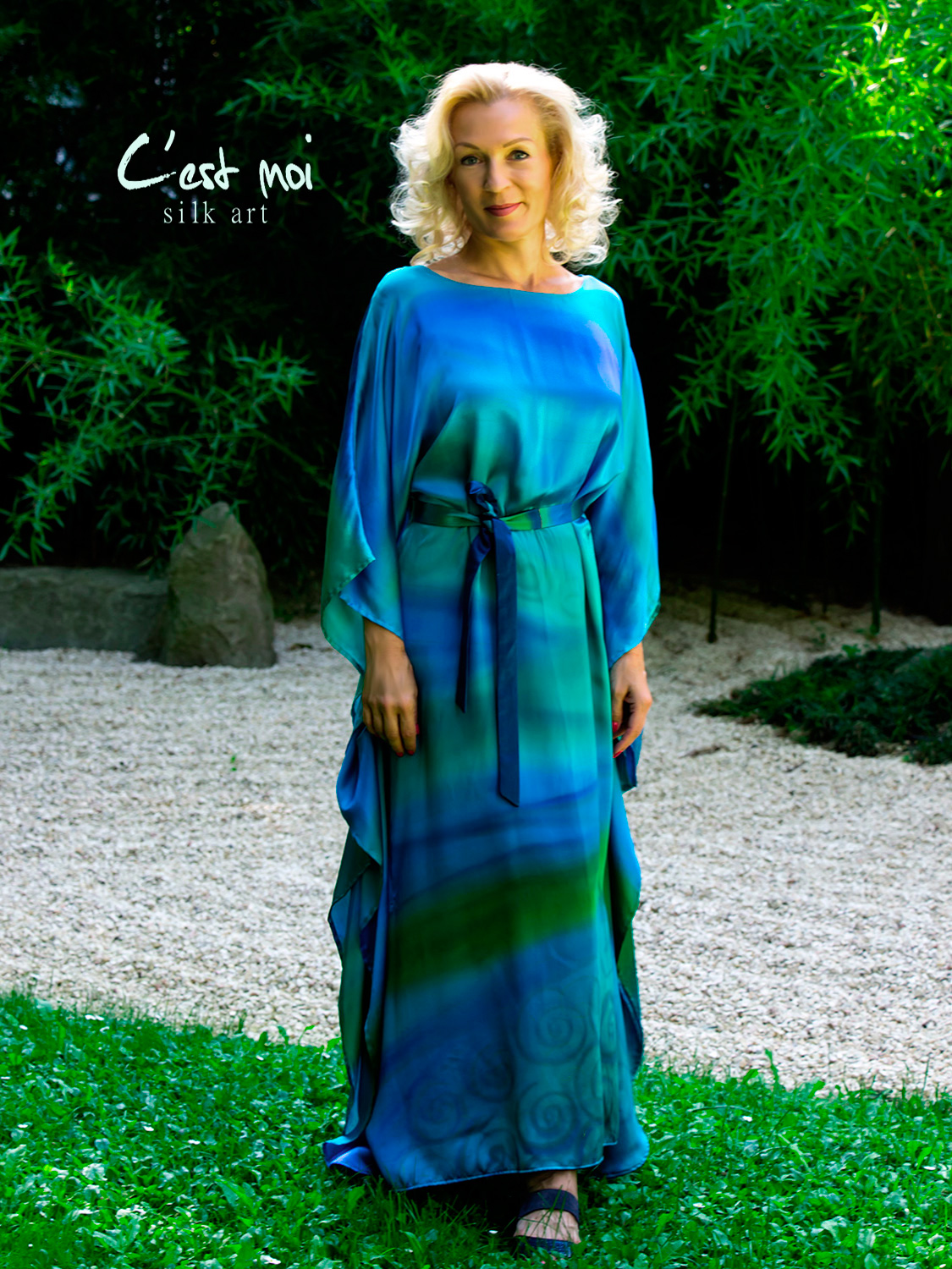turquoise-casual-silk-dress-by-CestMoi-06
